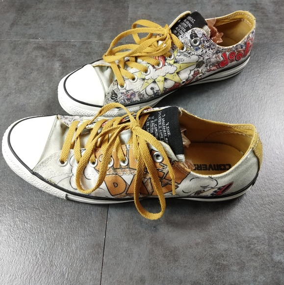 87d5f7029aaa Converse Other - Converse Green Day Dookie 90s Grunge Sneakers